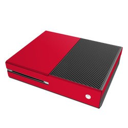 Microsoft Xbox One Skin - Solid State Red