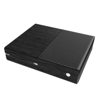 Microsoft Xbox One Skin - Black Woodgrain