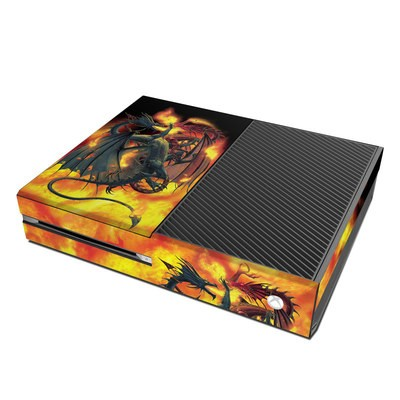 Microsoft Xbox One Skin - Dragon Wars