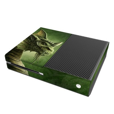 Microsoft Xbox One Skin - Green Dragon