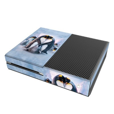 Microsoft Xbox One Skin - Penguin Heart