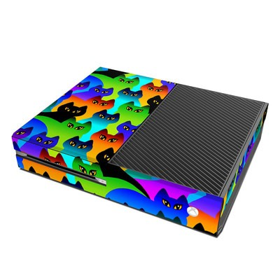 Microsoft Xbox One Skin - Rainbow Cats