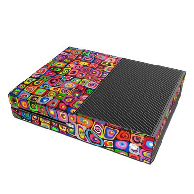 Microsoft Xbox One Skin - Square Dancing