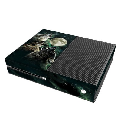 Microsoft Xbox One Skin - Three Wolf Moon