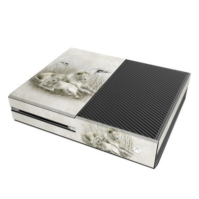 Microsoft Xbox One Skin - White Lion
