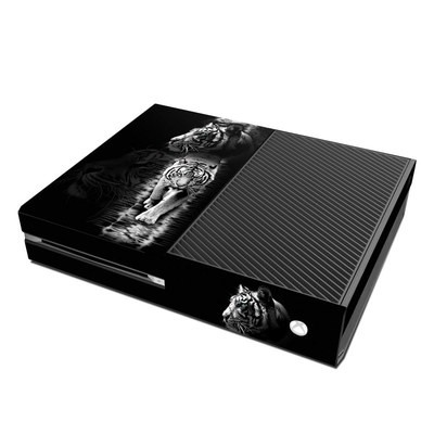 Microsoft Xbox One Skin - White Tiger