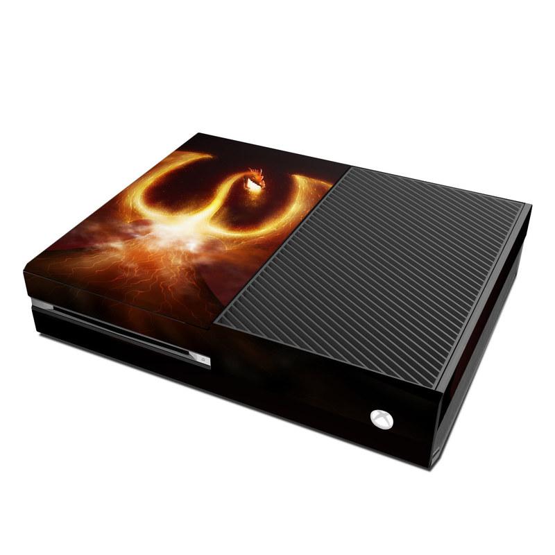 Microsoft Xbox One Skin - Fire Dragon by Vlad Studio ...