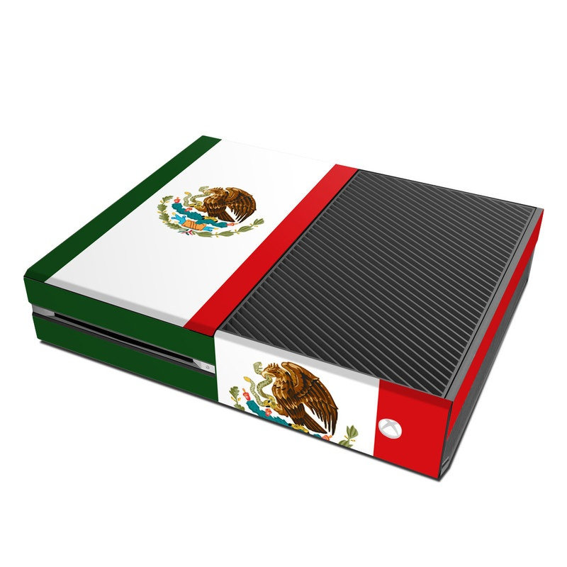 Microsoft xbox one skin mexican flag by flags decalgirl