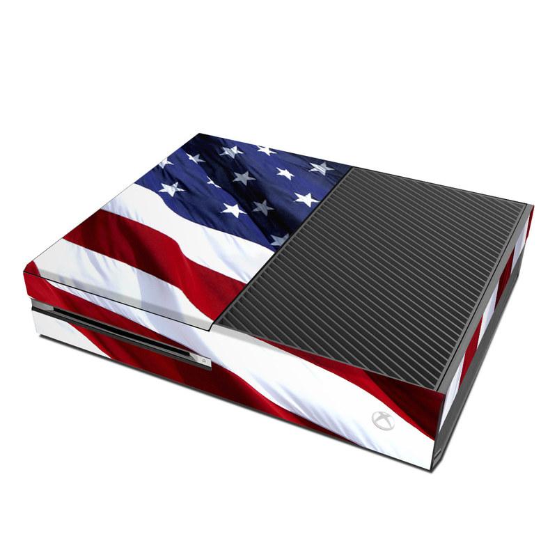 Microsoft Xbox One Skin - Patriotic by Flags | DecalGirlXbox One Skins