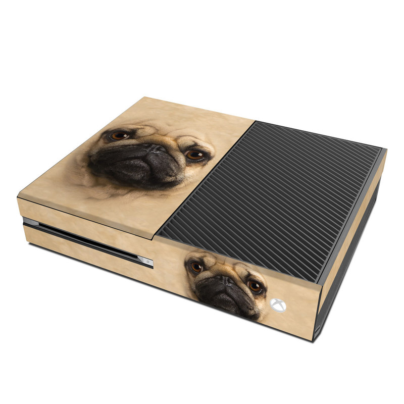 Microsoft Xbox One Skin - Pug by The Mountain | DecalGirlXbox One Skins