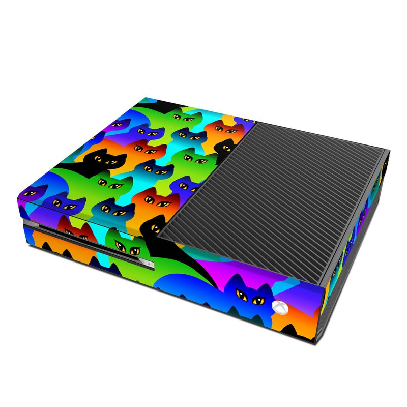 Automotive Paint Colors >> Microsoft Xbox One Skin - Rainbow Cats by Dan Morris | DecalGirl