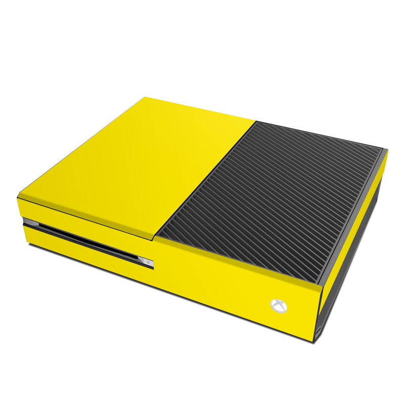 Foyer Colors Xbox One : Microsoft xbox one skin solid state yellow by