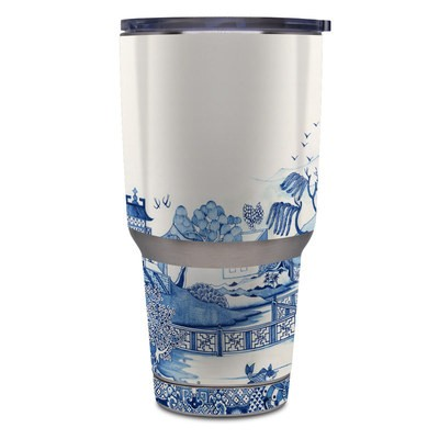 Yeti Rambler 30 oz Tumbler Skin - Blue Willow