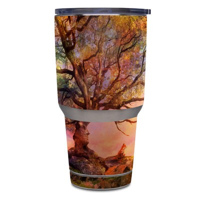 Yeti Rambler 30 oz Tumbler Skin - Fox Sunset
