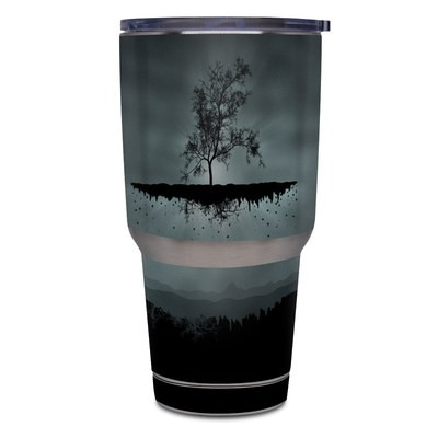 Yeti Rambler 30 oz Tumbler Skin - Flying Tree Black