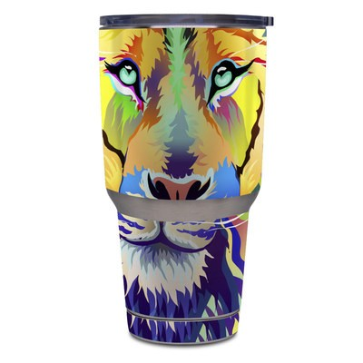 Yeti Rambler 30 oz Tumbler Skin - King of Technicolor