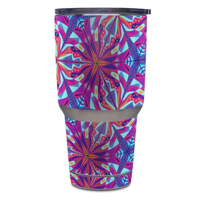 Yeti Rambler 30 oz Tumbler Skin - London Tube