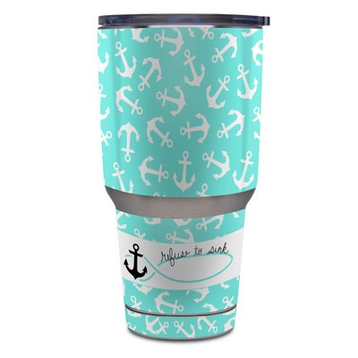 Yeti Rambler 30 oz Tumbler Skin - Refuse to Sink