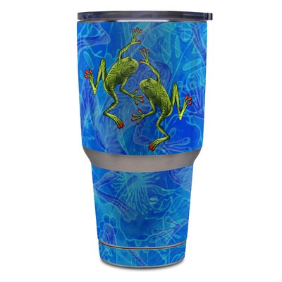Skin for Yeti Rambler 30 oz Tumbler - Tiger Frogs