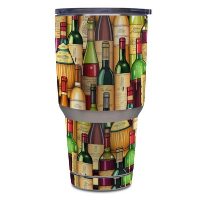 Yeti Rambler 30 oz Tumbler Skin - Time For Wine