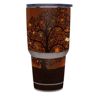 Yeti Rambler 30 oz Tumbler Skin - Tree Of Books