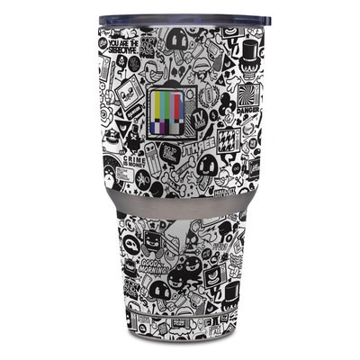 Yeti Rambler 30 oz Tumbler Skin - TV Kills Everything