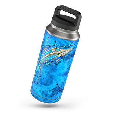 Yeti Rambler 36 oz Bottle Skin - Barracuda Bones