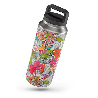 Yeti Rambler 36 oz Skin - Doodles Color