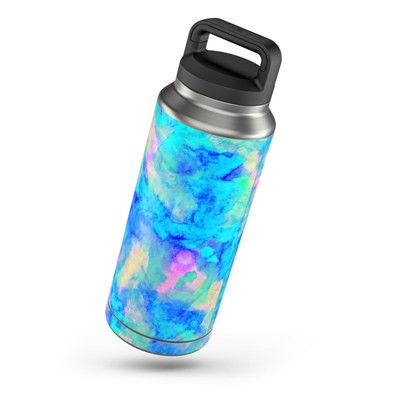 Yeti Rambler 36 oz Bottle Skin - Electrify Ice Blue