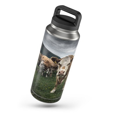Yeti Rambler 36 oz Bottle Skin - Herding