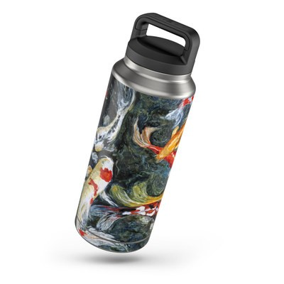 Yeti Rambler 36 oz Bottle Skin - Koi's Happiness