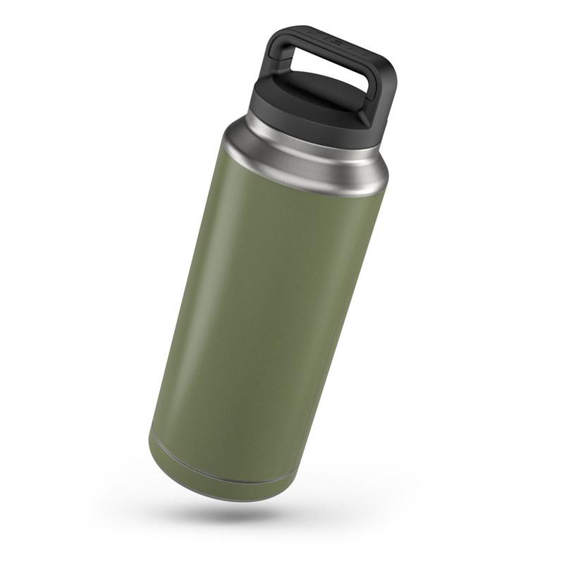 3955e990010 Yeti Rambler 36 oz Skin - Solid State Olive Drab