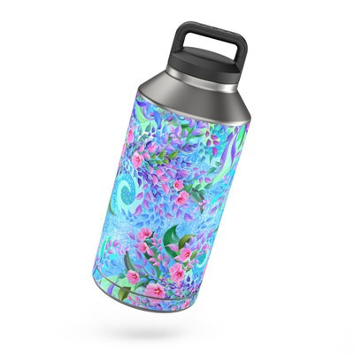 Yeti Rambler 64 oz Bottle Skin - Lavender Flowers