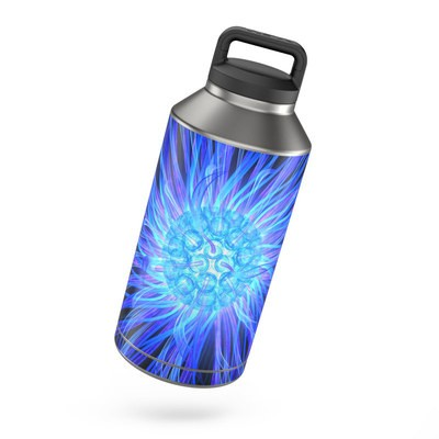 Yeti Rambler 64 oz Bottle Skin - Something Blue