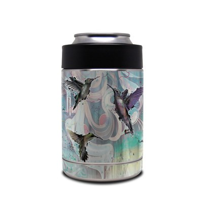 Skin for Yeti Rambler Colster - Hummingbirds
