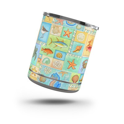Yeti Rambler 10 oz Lowball Skin - By The Shore