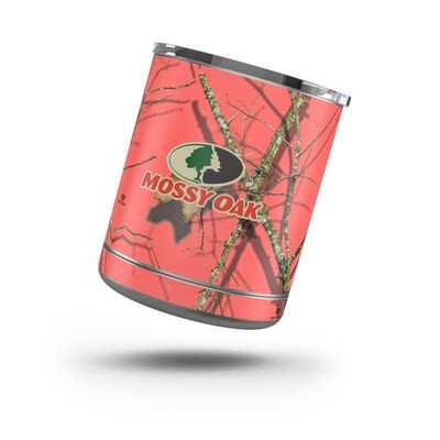 Skin for Yeti Rambler 10 oz Lowball - Break-Up Lifestyles Salmon