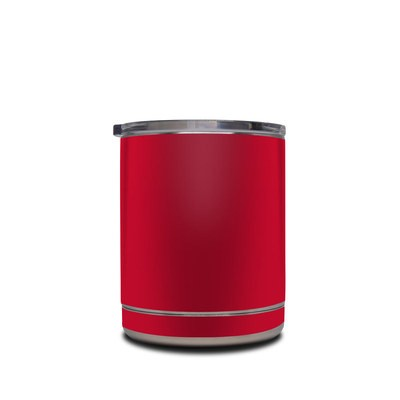 Skin for Yeti Rambler 10 oz Lowball - Solid State Red