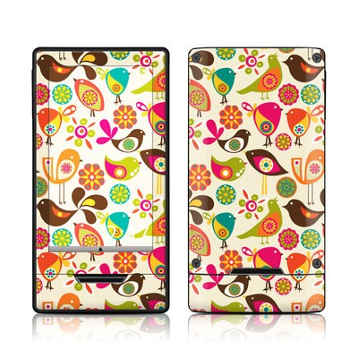 Zune HD Skin - Bird Flowers