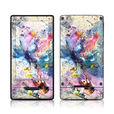 Zune HD Skin - Cosmic Flower