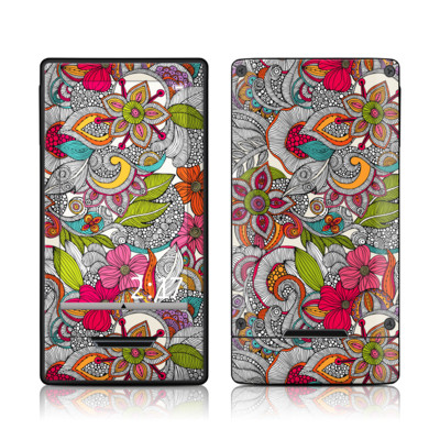 Zune HD Skin - Doodles Color