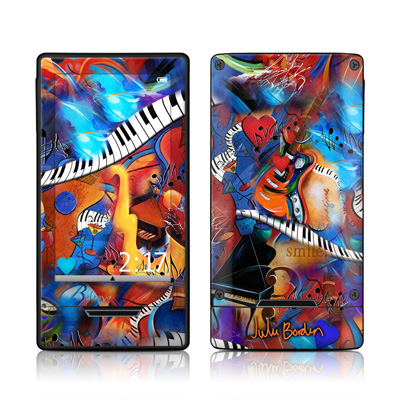 Zune HD Skin - Music Madness