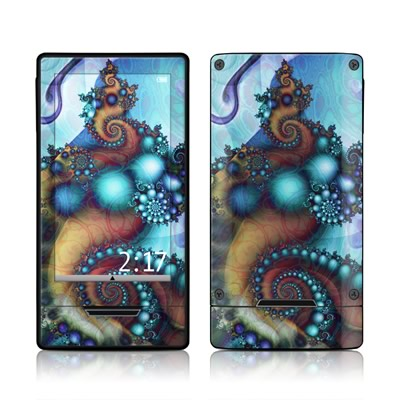 Zune HD Skin - Sea Jewel