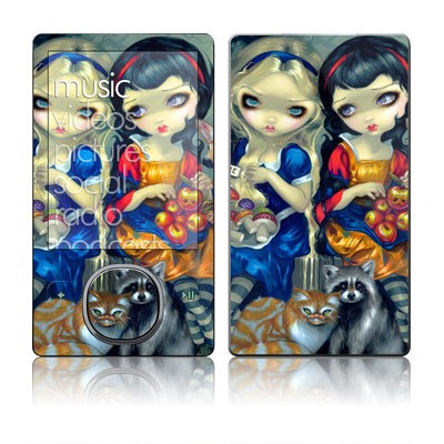 Zune 80/120GB Skin - Alice & Snow White