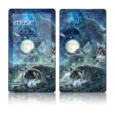 Zune 80/120GB Skin - Bark At The Moon