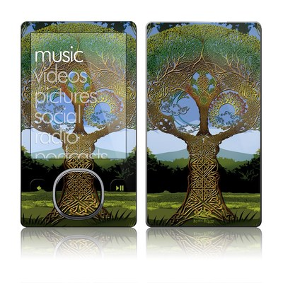 Zune 80/120GB Skin - Celtic Tree