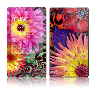 Zune 80/120GB Skin - Cosmic Damask