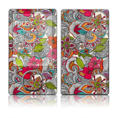 Zune 80/120GB Skin - Doodles Color