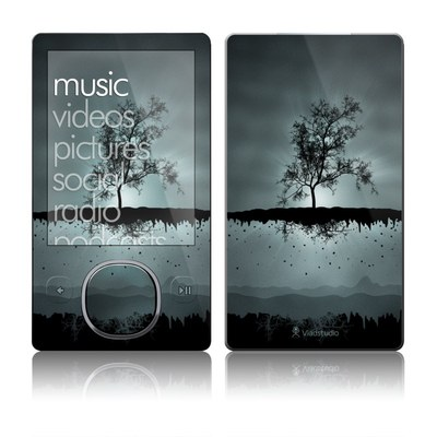Zune 80/120GB Skin - Flying Tree Black