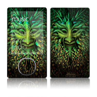 Zune 80/120GB Skin - Greenman